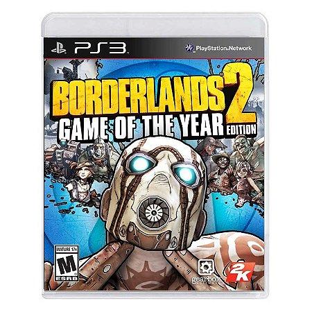 Jogo Borderlands 2 (GOTY) - PS3