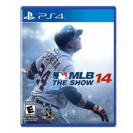 Jogo MLB: The Show 14 - PS4