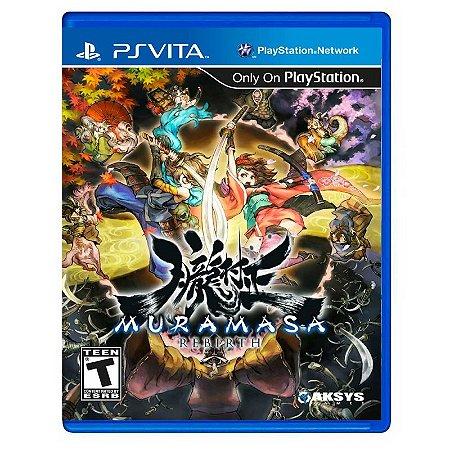 Jogo Muramasa Rebirth - PS Vita