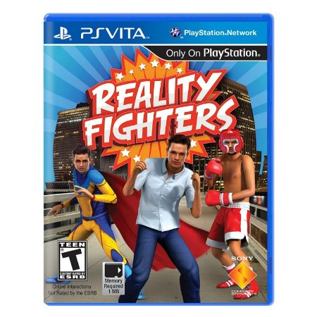 Jogo Reality Fighters - PS Vita