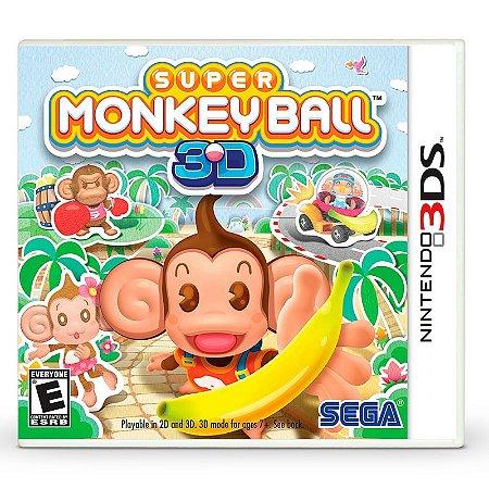 Jogo Super Monkey Ball 3D - 3DS