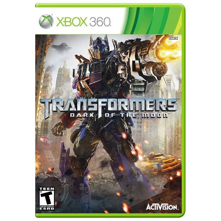 Jogo Transformers: Dark of the Moon - Xbox 360