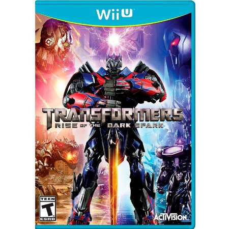 Jogo Transformers: Rise of the Dark Spark - Wii U