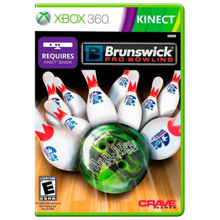Jogo Brunswick Pro Bowling - Xbox 360