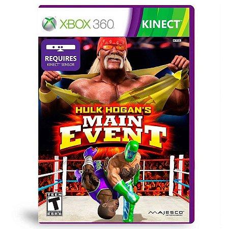 Jogo Hulk Hogan's Main event - Xbox 360