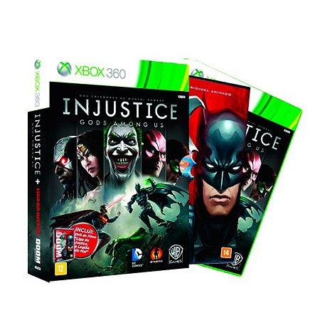 Jogo Injustice: Gods Among Us (Edição Limitada) - Xbox 360