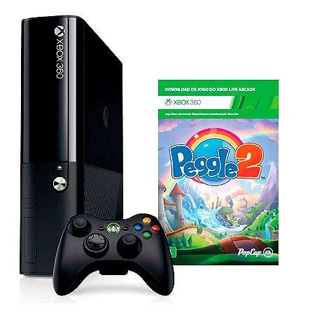 Console Xbox 360 Super Slim 4GB + Jogo - Microsoft