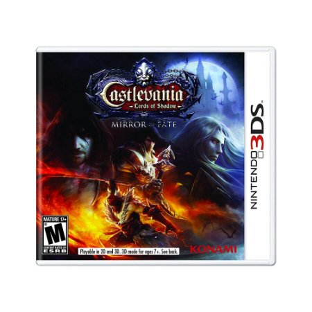 Jogo Castlevania: Lords of Shadow Mirror of Fate - 3DS
