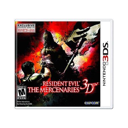 Jogo Resident Evil: The Mercenaries 3D - 3DS