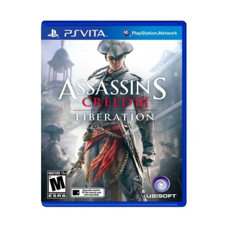 Jogo Assassin's Creed lll: Liberation - PS Vita