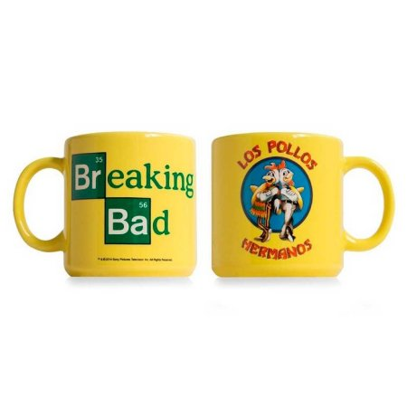 Caneca Breaking Bad Los Pollos Hermanos - Studio Geek