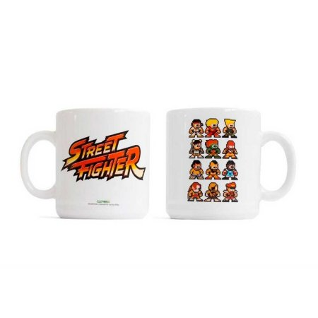 Caneca Studio Geek Street Fighter