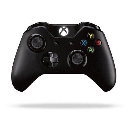 Controle Microsoft Black Piano - Xbox One