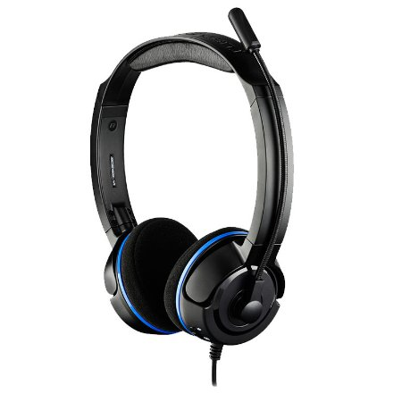 Headset Turtle Beach Ear Force PLa - PS3, PS4, PC e MAC
