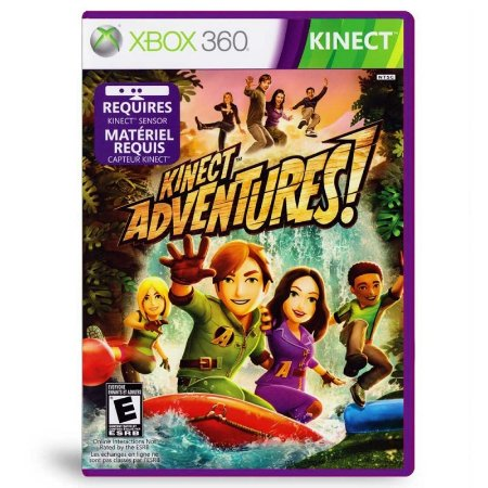Jogo Kinect Adventures - Xbox 360