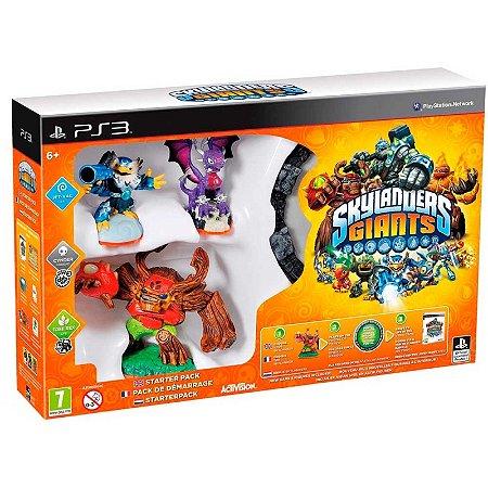 Kit Skylanders: Giants Starter Pack - PS3