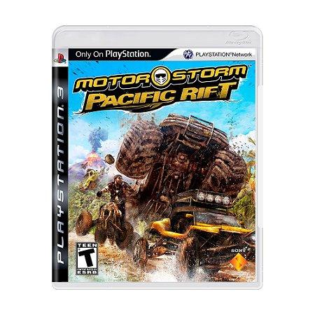Jogo MotorStorm: Pacific Rift - PS3