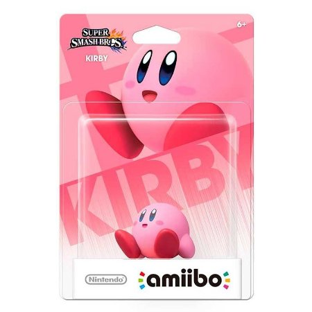 Nintendo Amiibo: Kirby - Super Smash Bros - Wii U e New Nintendo 3DS
