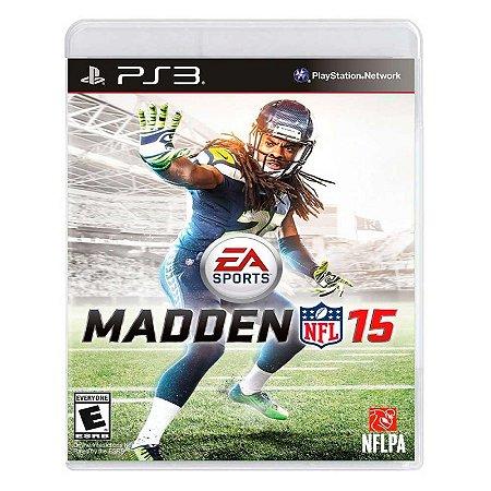 Jogo Madden NFL 15 - PS3