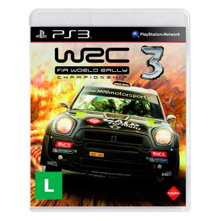 Jogo WRC FIA World Rally Championship 3 - PS3