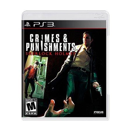 Jogo Sherlock Holmes: Crimes & Punishments - PS3