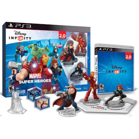Jogo Disney Infinity 2.0: Marvel Super Heroes - PS3
