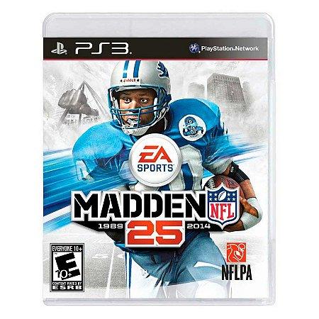 Jogo Madden NFL 25 - PS3