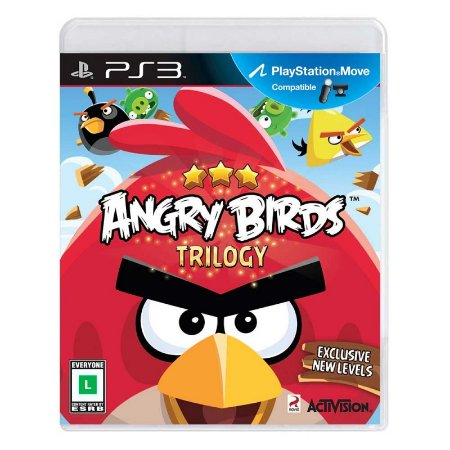 Jogo Angry Birds Trilogy - PS3
