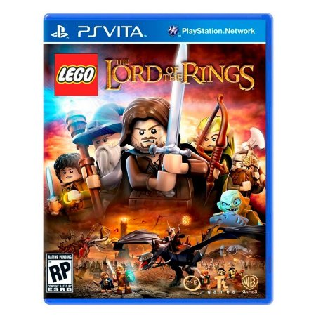 Jogo LEGO The Lord of the Rings - PS Vita