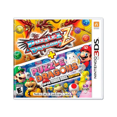 Jogo Puzzle & Dragons Z + Puzzle & Dragons Super Mario Bros - 3DS