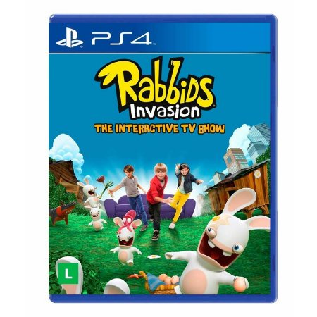 Jogo Rabbids Invasion: The Interactive TV Show - PS4