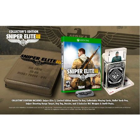 Jogo Sniper Elite III (Collector's Edition) - Xbox One