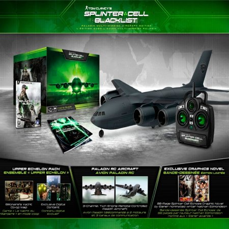 Jogo Tom Clancy's Splinter Cell: Blacklist: Paladin Multi-Mission Aircraft Edition - Xbox 360