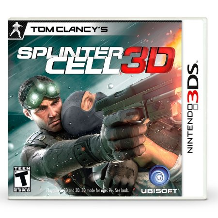 Jogo Tom Clancy's Splinter Cell 3D - 3DS