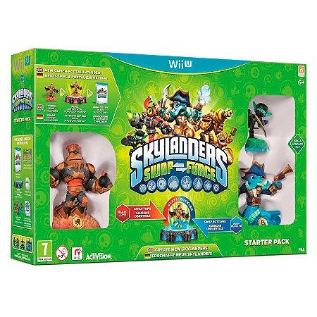 Jogo Skylanders Swap Force: Starter Pack - Wii U