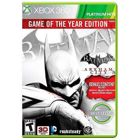 Jogo Batman: Arkham City (GOTY) - Xbox 360