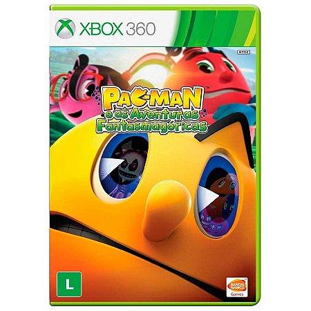 Jogo Pac-Man e as Aventuras Fantasmagóricas - Xbox 360
