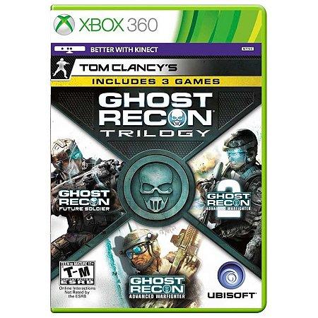 Jogo Tom Clancy's: Ghost Recon Trilogy - Xbox 360