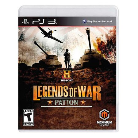 Jogo History Legends of War: Patton - PS3
