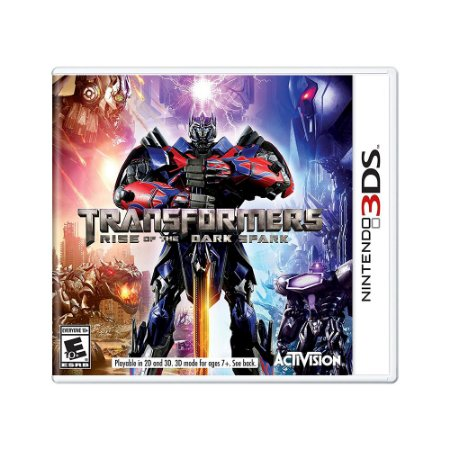 Jogo Transformers: Rise of the Dark Spark - 3DS