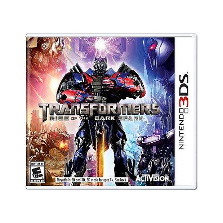 Jogo Transformers: Rise of the Dark Spark - 3DS