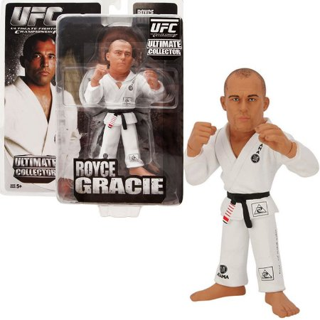 Boneco Royce Gracie UFC Ultimate Collector - Zuffa