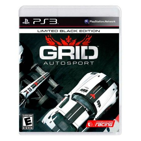 Jogo Grid Autosport (Black Edition) - PS3
