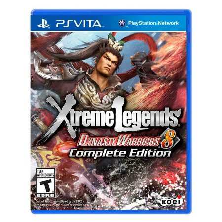 Jogo Xtreme Legends: Dynasty Warriors 8 (Complete Edition) - PS Vita