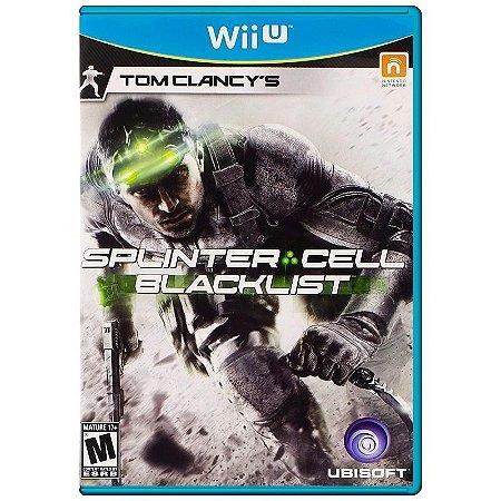 Jogo Tom Clancy's Splinter Cell: Blacklist - Wii U