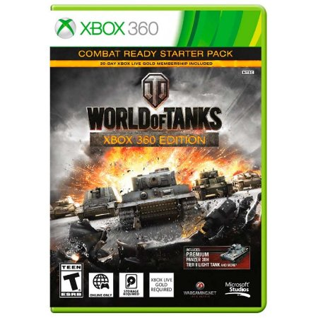Jogo World of Tanks: Combat Ready Starter Pack - Xbox 360
