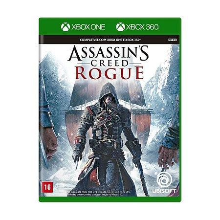 Jogo Assassin's Creed Rogue - Xbox 360 e Xbox One
