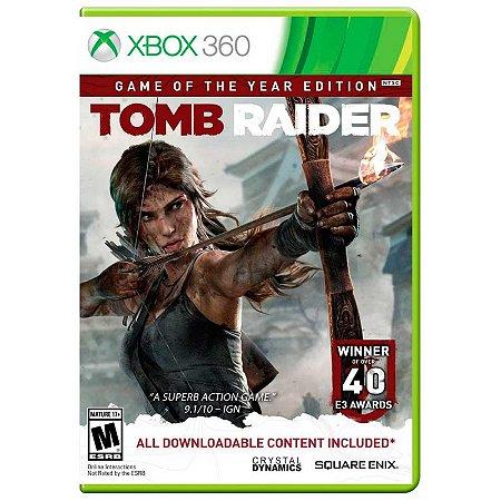 Jogo Tomb Raider (GOTY) - Xbox 360