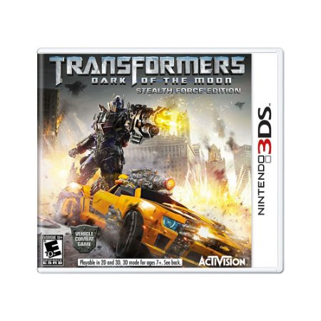 Jogo Transformers: Dark of the Moon - 3DS