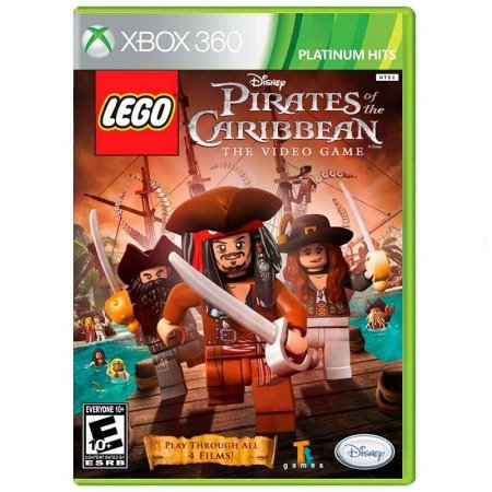 Jogo LEGO Pirates of the Caribbean: The Video Game (Platinum Hits) - Xbox 360